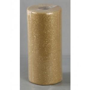 Tulle Glitter Oro 100 Mt. X 12,5 Cm.