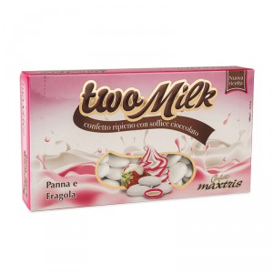 Panna e Fragola Two Milk Maxtris 1 kg