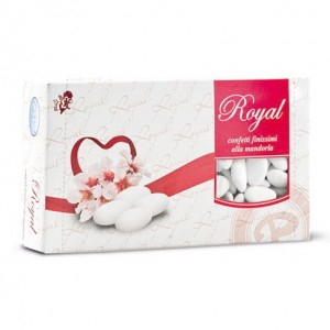 Confetti Mandorle spagnole 40 - Royal (300 pz.)