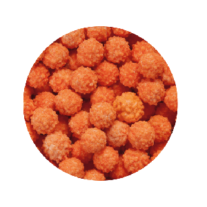 Ricci Arancioni - Confetti Maxtris 1 kg