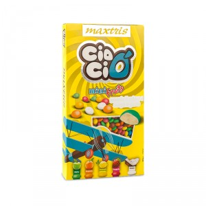 CioCio Mini Fruit Cioccolato al Latte Maxtris 500 gr.