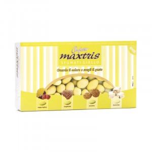 Sfumati Mandorla Giallo - Confetti Maxtris 1 kg