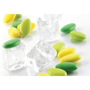 Confetti Sfumati Verdi E Gialli Al Cioccolato