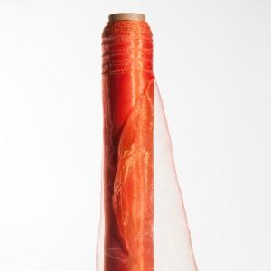 Deco Organza H.48 cm L.10 m Arancio