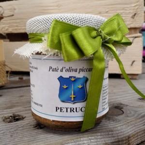 Patè d'oliva Sabina Piccante 180 gr