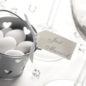 Etichette Just Married Avorio
