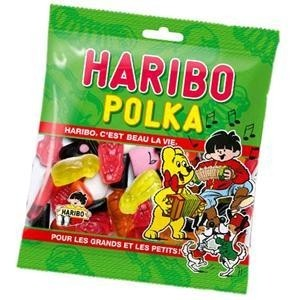 Caramelle Haribo Polka 100 gr