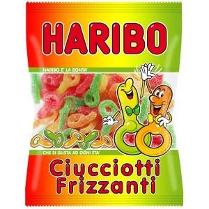 Caramelle Haribo Ciucciotti Frizzanti 100 gr