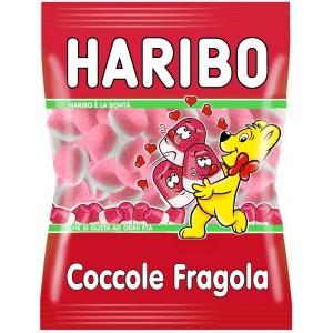Caramelle Haribo Coccole Fragola 100 gr