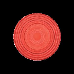 Set 6 piatti dolce Bitossi Linea Pois Rosso