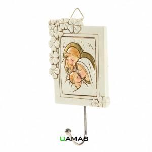 Appendino Icona Sacra Famiglia in Resina