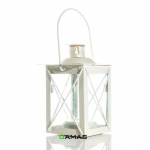 Lanterna Quadrata Avorio