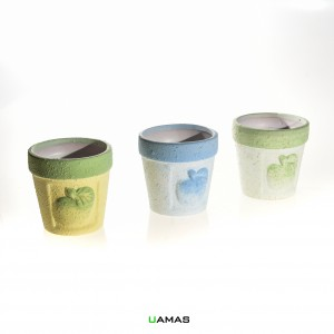 Vasetto in Ceramica Colori Assortiti