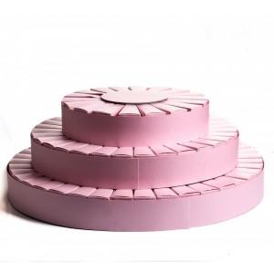 Torta Bomboniere Rosa
