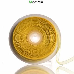 Nastro Organza H10mm Giallo