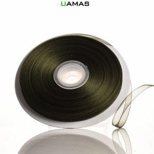 Nastro Organza H6mm Verde