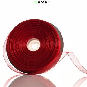 Nastro Organza H10mm Rosso