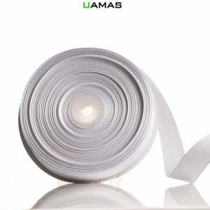 Nastro Gros Grain H20mm Bianco
