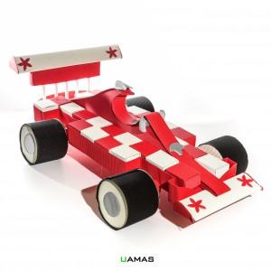 Struttura Macchina Formula 1 in Cartone