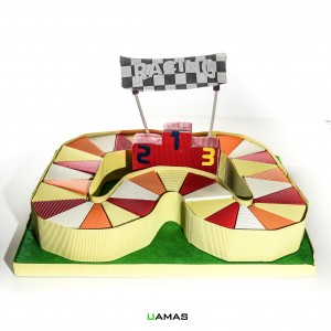 Struttura Autodromo in Cartone