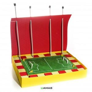 Struttura Campo Calcio Rettangolare in Cartone