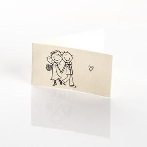 Biglietto Bomboniere per Matrimonio