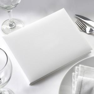 Guest Book Bianco Semplice