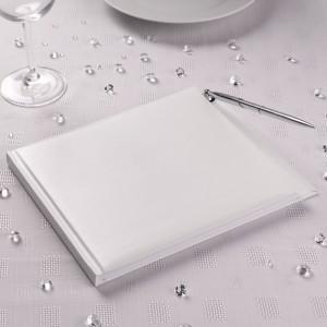 Guest Book Bianco