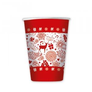 8 Bicchieri 200 cc #Natale2016 (Limited Edition)