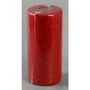 Tulle Glitter Rosso 100 Mt. X 12,5 Cm.