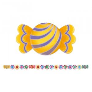 Kit Scritta Maxi 600 x 25 cm Candy