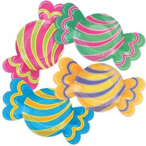 8 Piatti MIX 29 x 16 cm Candy