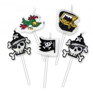 5 Candeline Picks Pirati