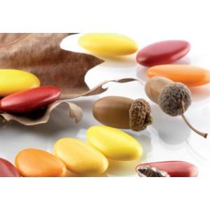 Confetti Sfumati Rosso Arancio E Gialli Al Cioccolato