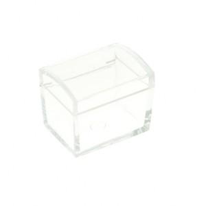 Scatola cofanetto in plexiglass trasparente cm. 5x4,5x5