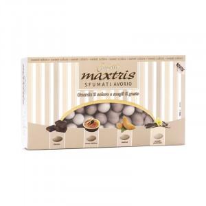 Sfumati Mandorla Avorio - Confetti Maxtris 1 kg