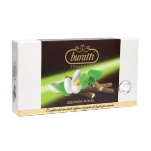 Liquirizia Menta - Confetti Buratti Tenerezze 1 Kg.