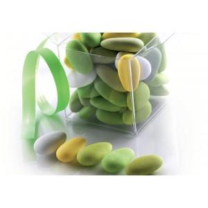 Confetti Alla Mandorla Sfumati Verdi