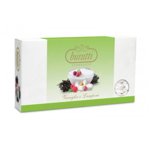 Vaniglia e Lampone - Confetti Buratti Tenerezze 1 kg
