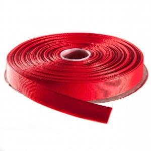 Nastro gros grain H.15mm rosso