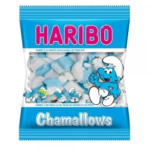 Caramelle Haribo Chamallows Puffi 100 gr