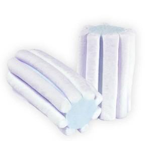 Marshmallow Estruso Striato Bianco Azzurro 1 kg
