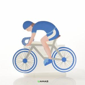 Scatola Bike Blu in Cartone