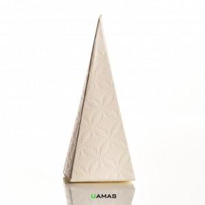 Cono Matelasse' Bianco h115 mm con Foro