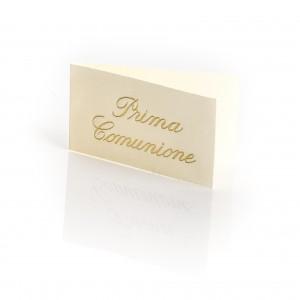 Biglietto Bomboniere per Comunione e Cresima